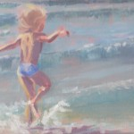 Oil / Katie in Tramore - 2010 / 300 x 300mm