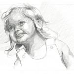 Pencil / Anna - June 2012 /  A3