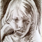 Pencil / Kasia - 2012 / A4